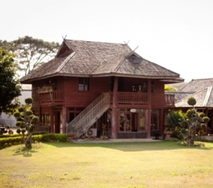 Chiang Rai Winery tasting room where you can enjoy tasting Thai fruit wines