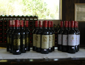 Thai wines waiting to be tasted on your Chiang Mai private wine tour